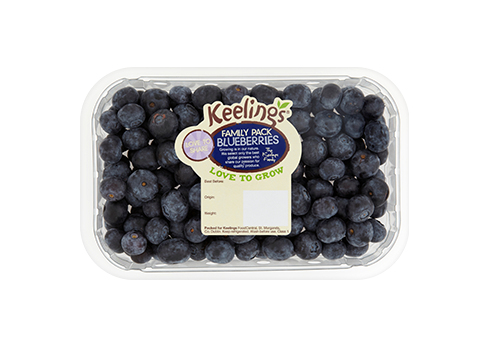 Keelings Blueberries