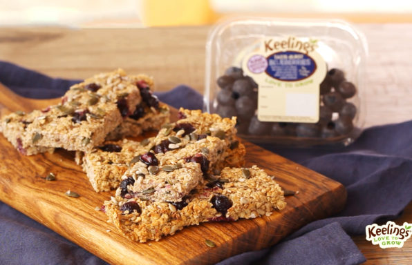 Keelings Berry Breakfast Bars