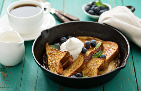 Keelings blueberry French toast.