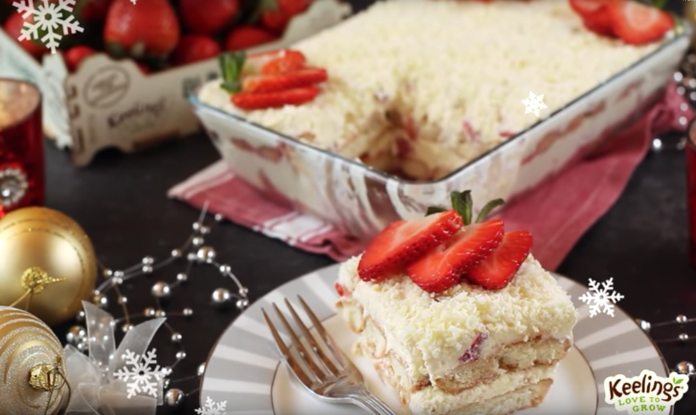 Strawberry & White Chocolate Tiramisu Recipe